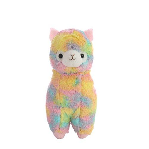 "Cuddly Soft Stuffed Toy 7"" Llama Rainbow Alpaca Doll Lamb Stuffed Animal Toys Kids' Plush Pillow Cushion Fiesta Toy Graduation Valentine's Day Birthday Xmas Christmas Best Gifts"