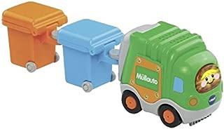 VTech 伟易达 Baby 80 – 187764 – Tut 汽车 – 垃圾车和2个垃圾桶,绿色