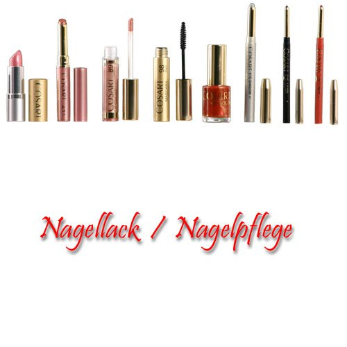 Cosart Nagellack Nail Colour 5023 Vulkan