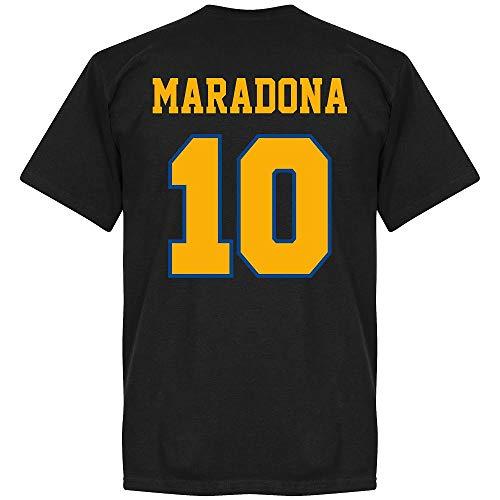 Boca Maradona 10 CABJ Crest T-Shirt - schwarz - S