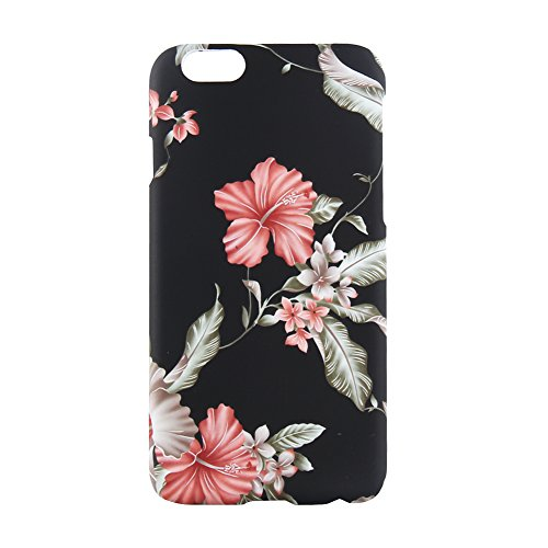 Cover 3D per iPhone 6/6S e iPhone 6Plus, motivo floreale, stile vintage, TPU + PC Blumen 4 iphone 6/6s