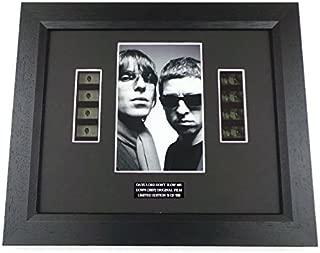artcandi Oasis Memorabilia Film Cell Framed Gift Liam Gallagher Noel Gallagher