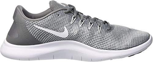 Nike Herren Flex 2018 RN Laufschuhe, Grau (Cool Grey/White 010), 44 EU