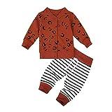 Baby Jungen Bekleidungssets Outfits Set, 0-4 Jahre Kleinkind Baby Jungen Hoodie Cartoon Bär Gedruckte Sweatshirt Tops + Hosen Leggings Kinder Kleidung Set