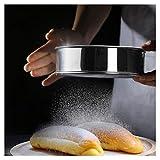 ZHER-LU, setaccio a rete in acciaio inossidabile per farina, utensile per cucina, setaccio per torte 60 Mesh-24cm