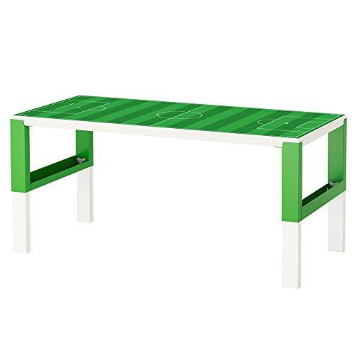Limmaland Möbelaufkleber Fußballfeld grün - passend für IKEA PAHL Kinder-Schreibtisch - Möbel Nicht inklusive