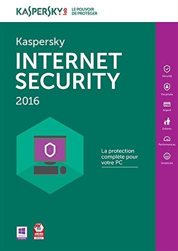Kaspersky Internet Security 2016 - Monoposte - 2 ans [Téléchargement PC]
