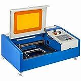 VEVOR 40W Laser Engraver CO2 Laser Cutter Machine USB Laser Engraving Machine Laser Cutting Machine LCD Display with USB Port