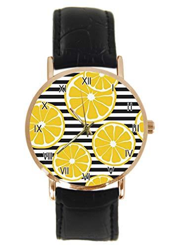 Funny Food Reloj de Pulsera de Cuarzo analógico Unisex con diseño de...