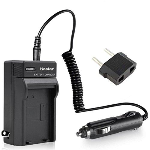 Kastar Travel Charger Kit for Panasonic CGR-D54S CGA-D54S VSK0581 & AG-HPX255 AG-HVX200 AJ-PCS060G AJ-PX270PJ HDC-Z10000 NV-DS29 NV-DS30 NV-DS50 NV-GX7 NV-MX5 NV-MX350 NV-MX500 NV-MX1000 NV-MX2500