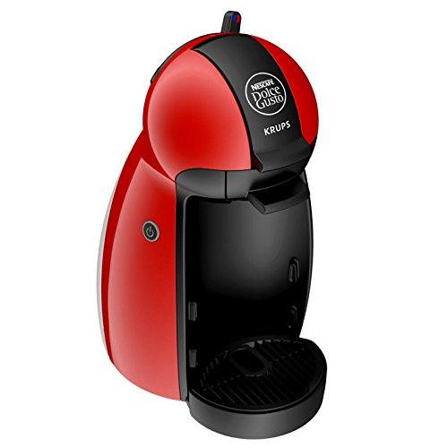 Krups YY1051FD Machine à Café à Capsules Nescafé Dolce Gusto Piccolo Rouge Manuelle Qualité Professionnelle Pression 15 Bars...