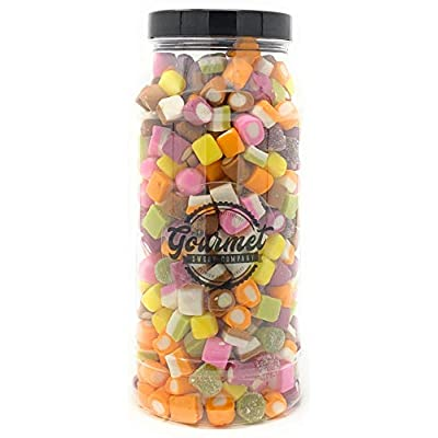dolly mixture retro sweet shop gift jar by the gourmet sweet company Dolly Mixture Retro Sweet Shop Jar By The Gourmet Sweet Company 41vD8UsWdHL