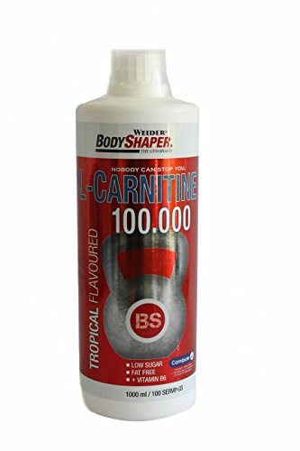 Weider, L-Carnitine 100.000, Tropical, 1er Pack (1x 1000ml)
