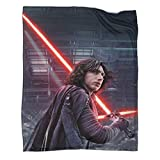 Plush Blanket Kylo Ren with Lightsaber Star Wars Movie Plush Throw Blankets for Couch Bed 70x90inch(180x230cm)
