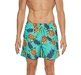 TRABIG Bañador Hombre Shorts de Baño Bañadores Hombre Cortos Bañadores Piscina Multicolor de Secado Rápido...