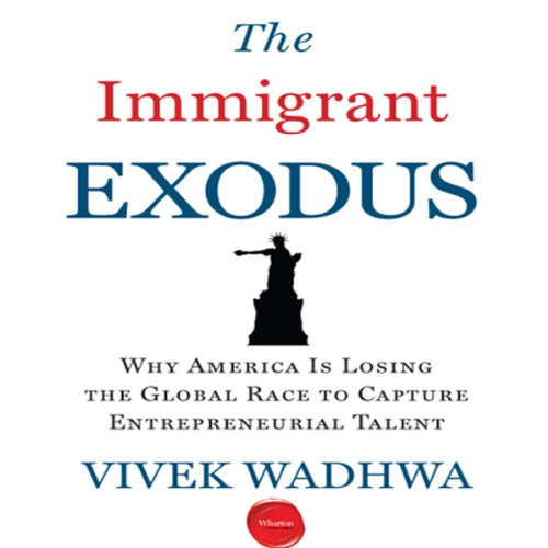 The Immigrant Exodus audiobook cover art