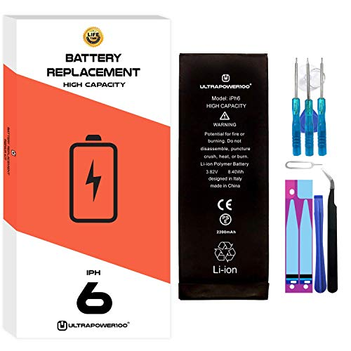 Ultrapower100® batería Compatible iPhone