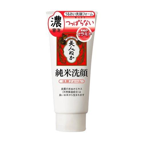 Komenuka Jyunmai Sengan Face Wash Cream 4.5 wt. oz. (135g) iGreen Tea Set)