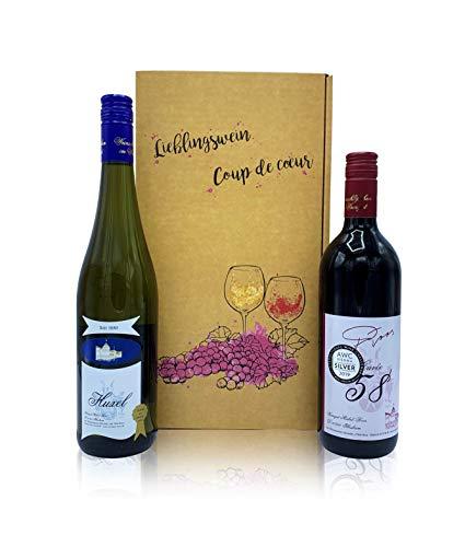 Geschenkset Weingut-Michel-Roos Wein lieblich im Geschenkkarton