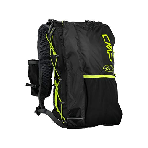 CMP Marco Olmo Ultramarathon 20l Backpack Backpack Unisex - Adulto, Unisex adulto, mochila, 38V9537, Negro , talla única