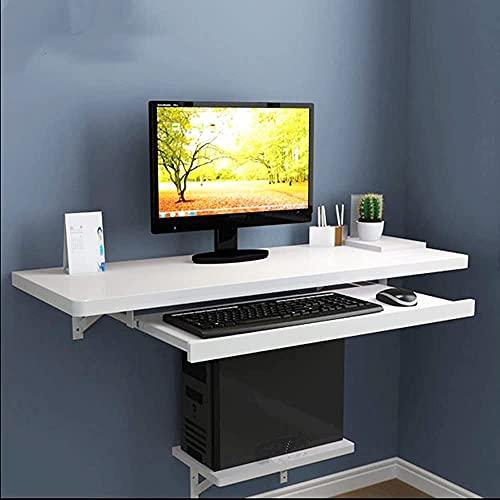VTAMIN Escritorio de la computadora, Escritorio de la Bandeja del Teclado Ordenador Personal Mesa para Adultos y niños, Ordenador Personal Portátil Muebles Muebles Estudio Gaming Desktop Workstation