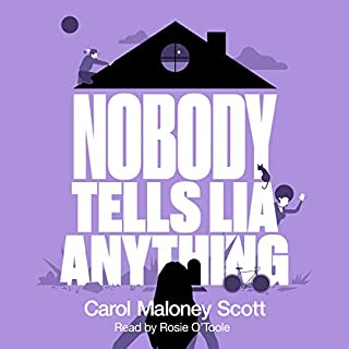 Nobody Tells Lia Anything: Laugh Out Loud Paranormal Chick Lit audiobook cover art