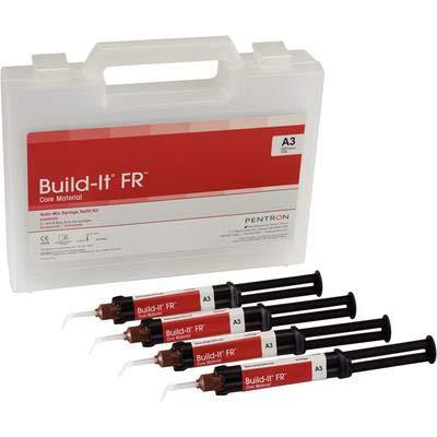 Build-It FR Automix Core Buildup Mini Mix Syringe Shade A3 4 mL Dual Cure 4/Package