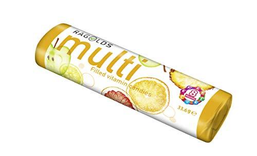 Ragolds Rolle Multivitamin Bonbons 12 x 33,6g