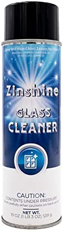 Zinshine Glass Cleaner Spray Ammonia Free Cleaning for Auto and Home on Window Windshield Mirror product image