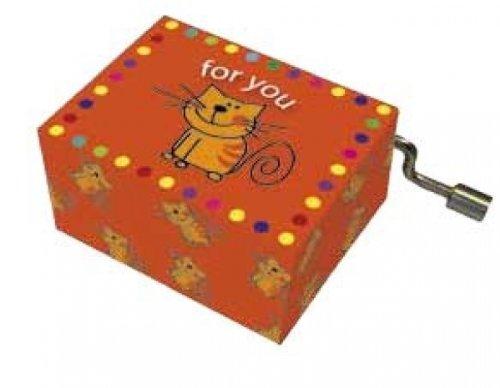 Fridolin 58407 Spieluhr Happy Birthday / mit Katze