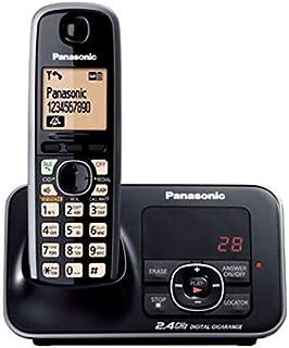 Panasonic KX-TG3721BX Cordless Phone - Black (Pack of1)