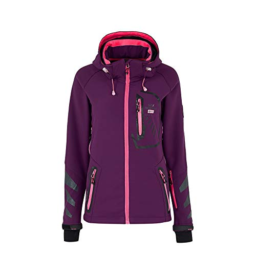 Geographical Norway Chaqueta deportiva para mujer de softshell...
