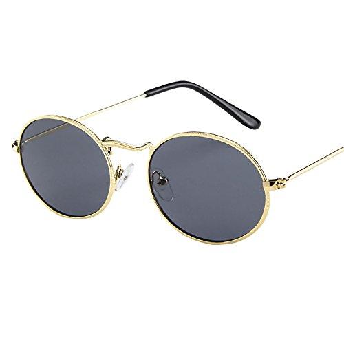 routinfly-occhiali da sole Gafas de Sol, Gafas de Sol elípticas, Gafas de Sol ovaladas Retro D M