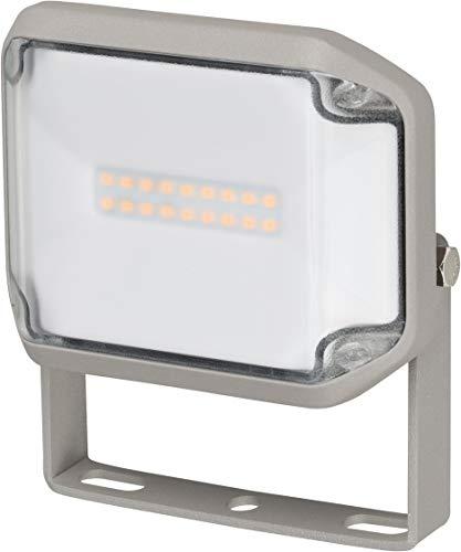 Brennenstuhl LED Strahler AL 1000 / LED Fluter für außen (LED-Außenstrahler zur Wandmontage, 10W, warmweißes Licht, IP44)