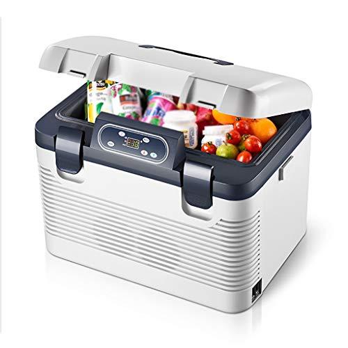 YANN Mini congelador - Bebidas de Cerveza Nevera pequeña portátil - con función de enfriamiento y Calentamiento - para Dormitorio, hogar, Caravana, Coche [Clase de energía A +] (Color : 12L)