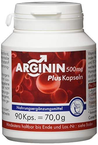 Pharma-Peter ARGININ 500 mg Plus Kapseln, 90 Kapseln