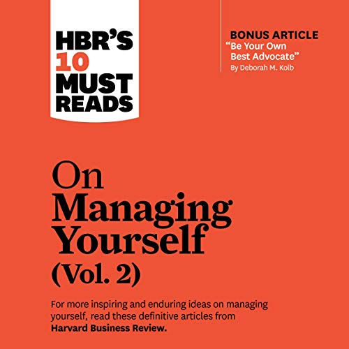 Couverture de HBR's 10 Must Reads on Managing Yourself, Vol. 2