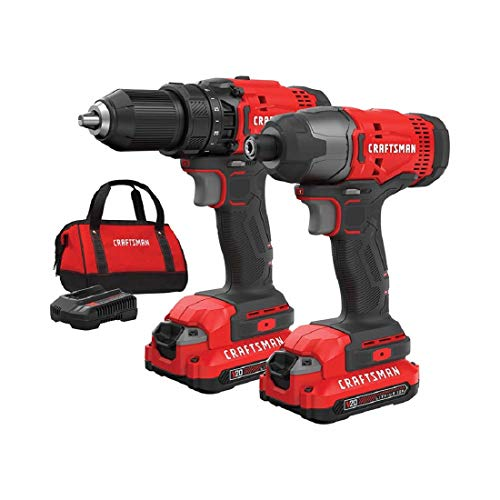 CRAFTSMAN 20V Cordless Drill Combo Kit Review