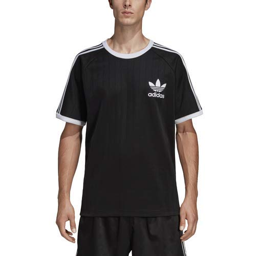adidas Originals Men's Baseball Tee, black/carbon, Large