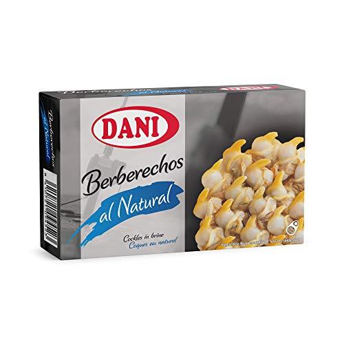Dani - Berberechos al natural - Pequeños - Pack 4 x 111 gr.