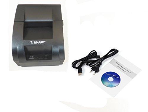 SEAFON Impresora Pos USB Punto de Venta 58mm Term