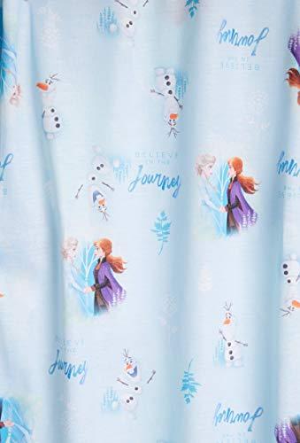 Disney Frozen 2 Pijama Niña, Camison Niña de Manga Larga, Vestido Niña para Dormir con Las Princesas Anna y Elsa, Regalos para Niñas 3-12 Años (9-10 años)