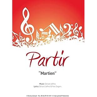 "Partir ""Martien"", Full Score"