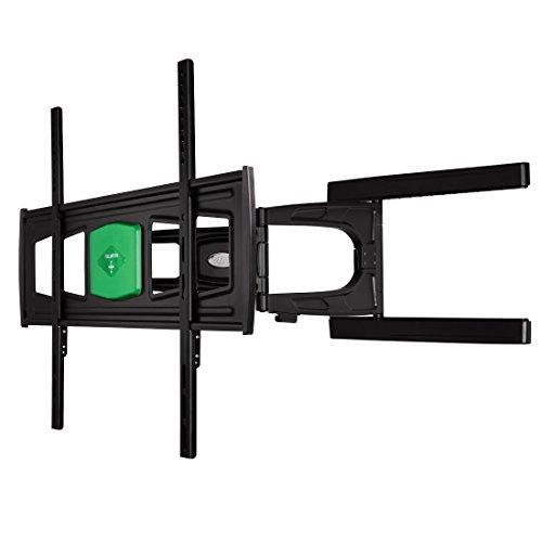 Hama TV-Wandhalterung Ultraslim (neigbar, schwenkbar, vollbeweglich für Fernseher von 37 - 65 Zoll (94 cm bis 165 cm Diagonale), inkl. Fischer Dübel, VESA bis 700x500, max. 35 kg) schwarz