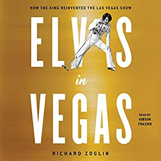 Elvis in Vegas audiobook cover art