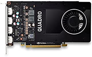 HP 1ME41AT - Tarjeta gráfica NVIDIA QUADRO P2000 de 5 GB (reacondicionado)