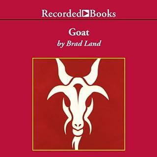 Goat audiobook cover art