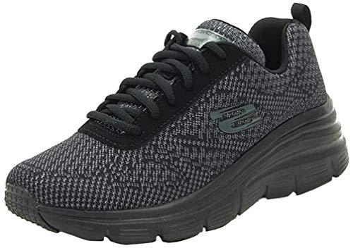 Skechers Sneaker Donna 12719, Fashion Fit Bold Boundaries, Black (35 EU)