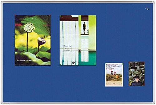 Legamaster 7-141863 Universal Pinboard Textil, 150 x 100 cm, blau