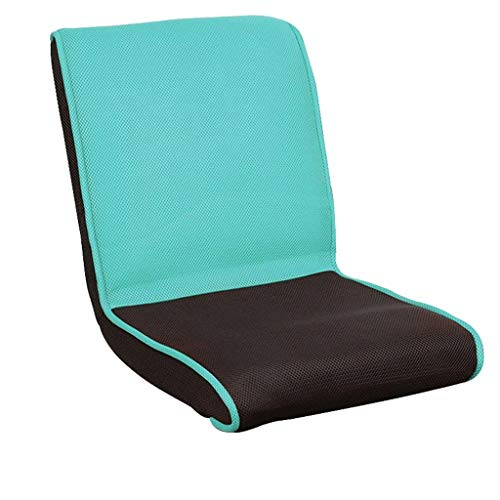 JJZXT Position Memory Foam Floor Chair Gepolsterter Gaming Chair Bequeme Rückenstütze Rocker